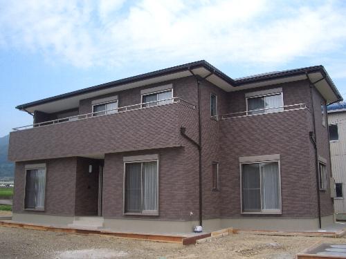 二世帯住宅のお家