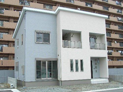 内階段のお家