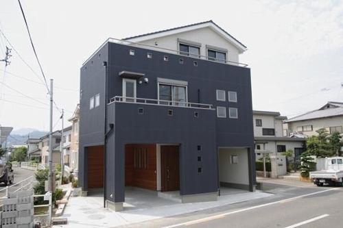 都市型3階建て住宅