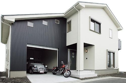 ガレージのあるお家