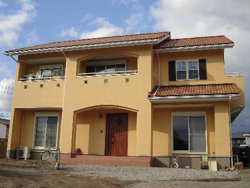 南仏プロヴァンス風の住宅