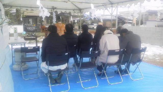 1月15日(日)、吉野川市・M様邸で地鎮祭がありました