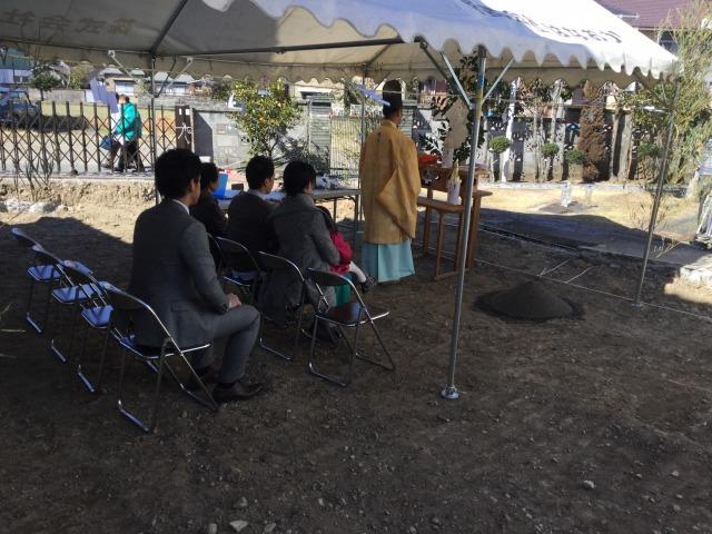 2月19日(日)、阿南市・H様邸で地鎮祭がありました