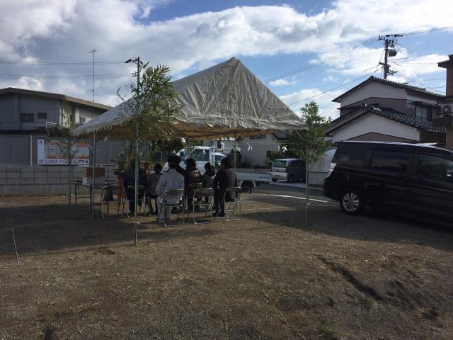 11月19日(日)、徳島市・S様邸で地鎮祭がありました