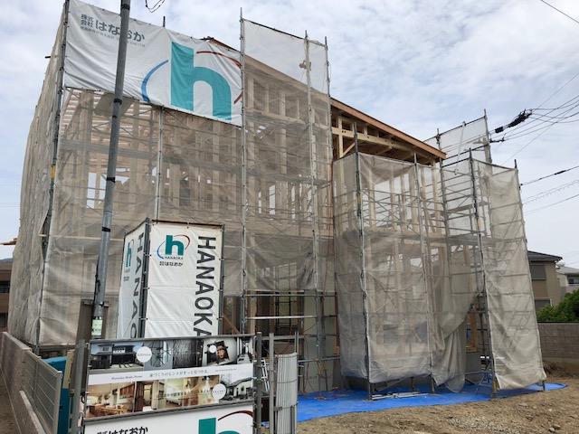5月16日(水)、徳島市・K様邸で上棟式がありました