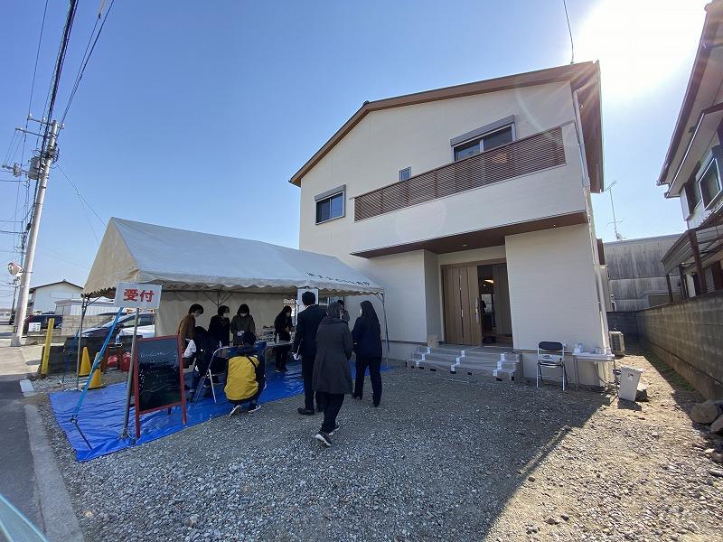 2月20日(土)・21日(日)、松茂町・M様邸で完成見学会を開催しました