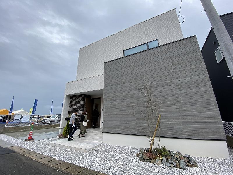 3月20日(土)・21日(日)、応神町・北島町北村で完成見学会を開催しました