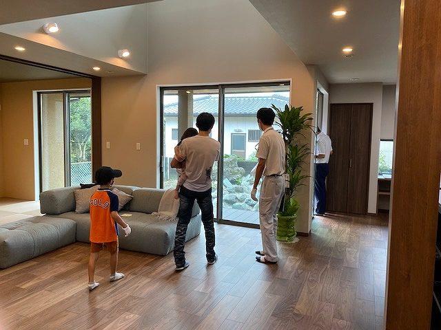 8月21日(土)・8月22日(日)、徳島市北沖洲・S様邸で完成見学会を開催しました